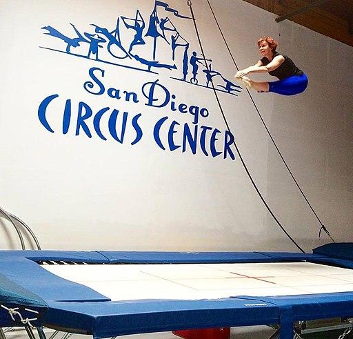 Dian Nissen at SD Circus Center