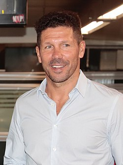 Simeone in september 2017