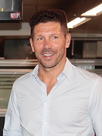 Diego Simeone - Simeone during an Atlético Madrid meeting in September 2017