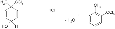 Dienolbenzen rearrangement