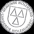 Dienstsiegel Gemeinde Holenberg Landkreis Holzminden.png