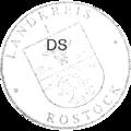 Dienstsiegel Landkreis Rostock 1 Kreiswappen 20121227.png