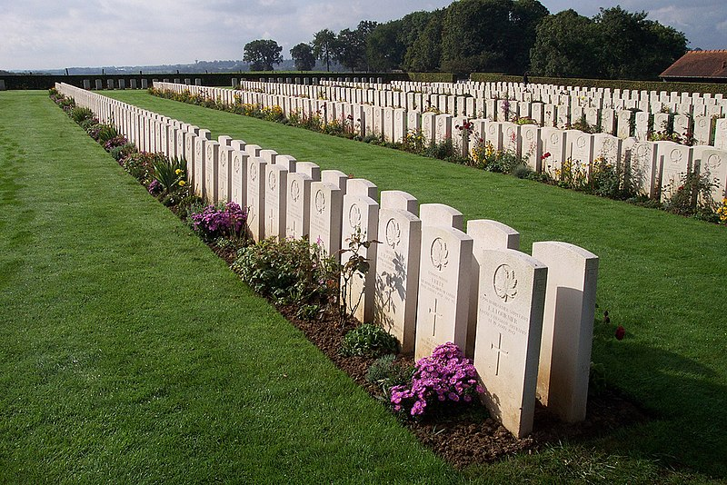 Canadian War Cemetery at Dieppe