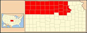 Roman Catholic Diocese of Salina - Image: Diocese of Salina (Kansas USA)