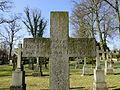 Dobbertin Klosterfriedhof Grabstein Margarethe von Behr Reihe 4 Platz 10 2012-03-23 233.JPG