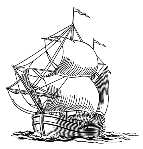 historic ship coloring pages - photo#1