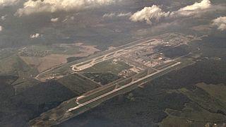 Domodedovo International Airport aerial view
