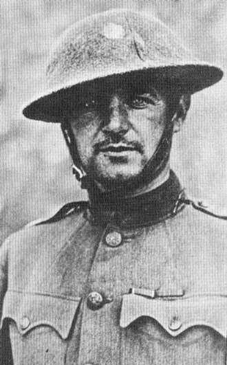 William J. Donovan -  Donovan as a major with the Fighting 69th in France in 1918.