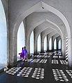 Doors to the lights at Baitul Mukarram National Mosque.jpg