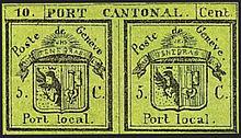 Postgeschichte Und Briefmarken Der Schweiz Wikipedia