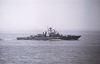 Soviet frigate <i>Dostoynyy</i>