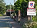 Dourges (Pas-de-Calais, Fr) city limit sign.JPG