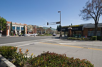 Menlo Park, California - Downtown Menlo Park
