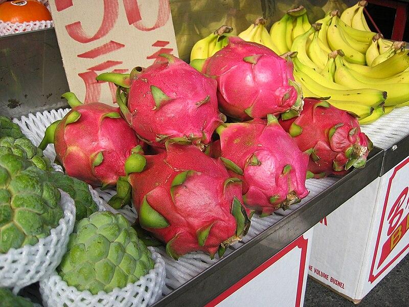 File:Dragonfruit Chiayi market.jpg