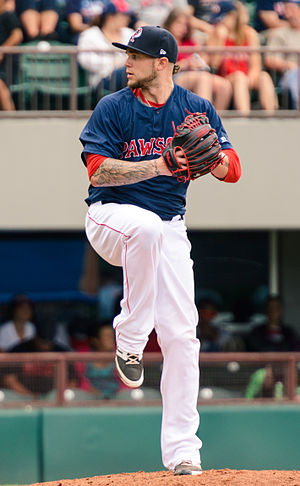 Drake Britton - Britton with the Pawtucket Red Sox