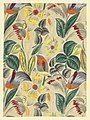 Drawing, Textile Design- Tropical Flowers, 1912–13 (CH 18805389).jpg