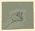 Drawing, study of wrist and left hand, ca. 1890 (CH 18404493).jpg