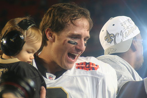Drew Brees, Super Bowl XLIV Jan. 7th, 2010