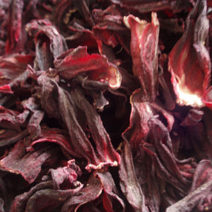 Hibiscus tea - Dried hibiscus calyces