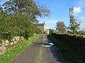 Drive to Saughy Rigg Farm and BandB - geograph.org.uk - 1533618.jpg