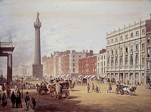 Clerys - Image: Dublin Sackville Street 1853