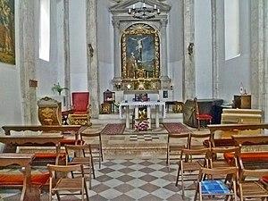 St. Saviour Church, Dubrovnik - Interior of the St. Saviour Church