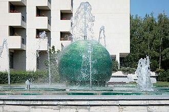 Dudince - Image: Dudince fontana Diamant