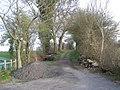 Dumped by the farm track - geograph.org.uk - 757778.jpg