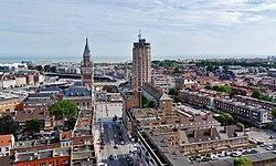 Le centre de Dunkerque.