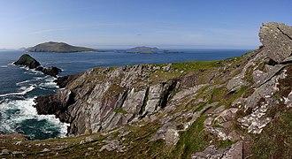 Blasket Islands - Blasket Islands as seen from Dunmore Head