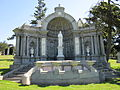 Dunphy-Carmen family vaults, Holy Cross, Colma 1.JPG
