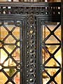 Duomo di aachen, grate carolinge dei matronei, 07.jpg
