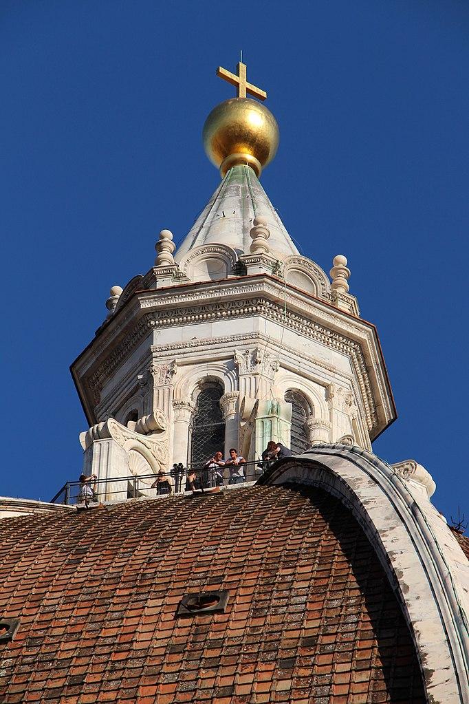 File Duomo Di Firenze Da Terrazza In P Duomo Cupola