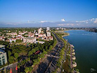 Việt Trì City in Phú Thọ, Vietnam