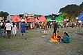 Durga Puja Pandal with Spectators - Ballygunge Sarbojanin Durgotsab - Deshapriya Park - Kolkata 2014-10-02 9077.JPG