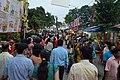 Durga Puja Spectators - Baghbazar Street - Kolkata 2014-10-03 9243.JPG
