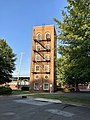 Durham City Fire Drill Tower, Old North Durham, Durham, NC (49139697138).jpg