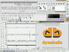 dyne:bolic XFCE User Interface Screenshot