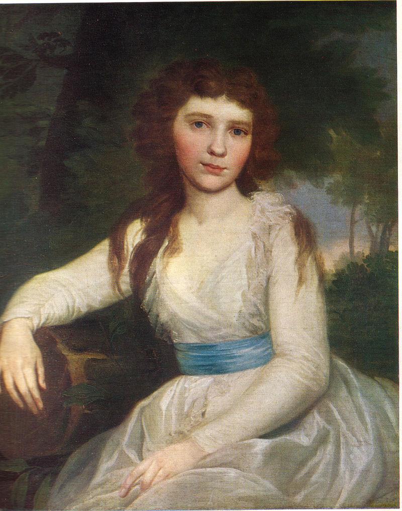 На портрете работы В.Л.Боровиковского