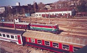 Haydarpaşa-Adapazarı Regional - Image: E52515 Adapazari Ekspresi