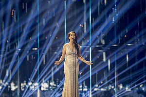 Spain in the Eurovision Song Contest 2014 - Ruth Lorenzo at rehearsal in Copenhagen