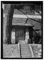 East entrance - National Park Seminary, Miller Library, 2801 Woodstock Avenue, Silver Spring, Montgomery County, MD HABS MD,16-SILSPR,2Q-4.tif