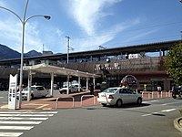 East entrance of Beppu Station 20160218-1.JPG