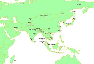 Cultural area - Image: East eurasian sccs cultures