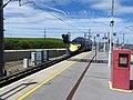 Ebbsfleet International railway station third rail starts 5178.jpg