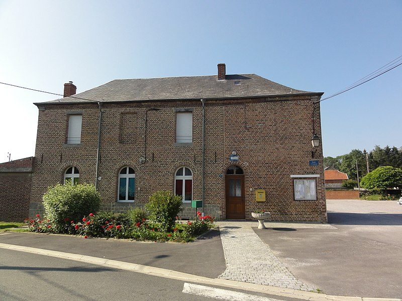 Eccles (Nord, Fr) mairie