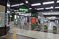 Echigo-Yuzawa Station ticket barriers 2018.jpg