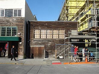 Cannery Row (novel) - Ed Ricketts' lab at 800 Cannery Row, Monterey, which was the basis for Doc's marine Lab