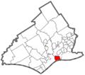 Eddystone, Delaware County, Pennsylvania.png