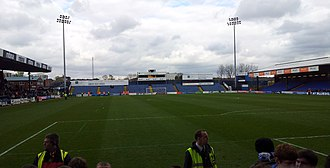 Edgeley Park - Edgeley Park in spring 2012.